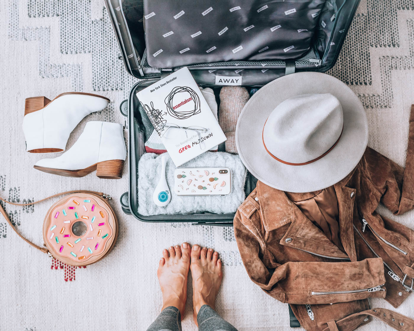 5 Tips for Maintaining Your Wellness Routine While Traveling | With the holiday travel season upon us, I wanted to share my best healthy travel tips so you can stay healthy and well on your next trip! | Om & the City Blog #OmAndTheCity #healthytravel #traveltips #holidaytravel #wellness #healthytraveltips