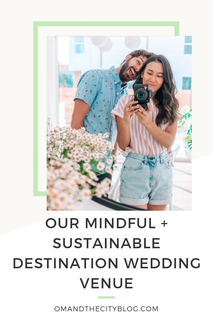 Our Mindful & Sustainable Destination Wedding Venue | In this post, I reveal our destination wedding venue that is dedicated to sustainability, conscious cuisine, and regenerative agriculture. A green wedding is important to us, so I'm excited to share more on our findings as we plan our wedding! #ecofriendlywedding #greenwedding #consciouswedding #weddingplanning #destinationwedding #costaricawedding