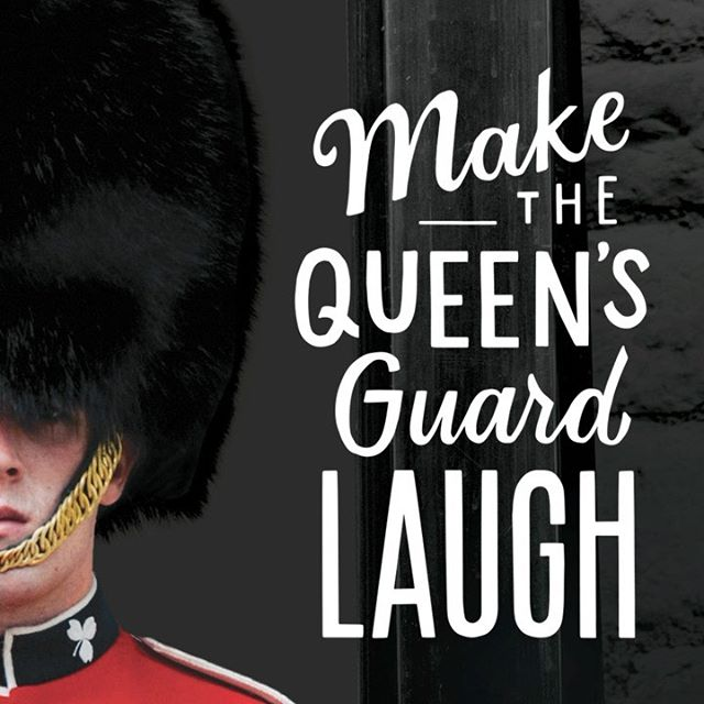 A few months back, the team and I created an activation for @pdxairport and @delta. The goal? Make the Queen's guard laugh and win a trip to London.  So psyched that I get to work with such a rad group of talented human beans! Scroll through and check out our work. Design/photographer: @myrandathompsonn  Video: @keyyzus  Motion design: @bruno.lopez.vargas  _______________ #deltaairlines #pdxairport #artdirection #design #graphicdesign #illustration #handlettering #brandactivation #experientialmarketing #socialmediamarketing #sparkloft #advertising #creativedirection #videographer