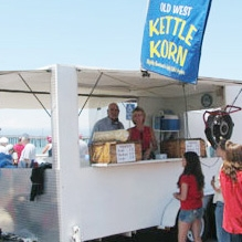 OLD WEST KETTLE KORN - Original and caramel glaze popcorn -sweet & salty snack that is good for you! Call us for your next event.805-995-1664LolaBalestra@charter.net