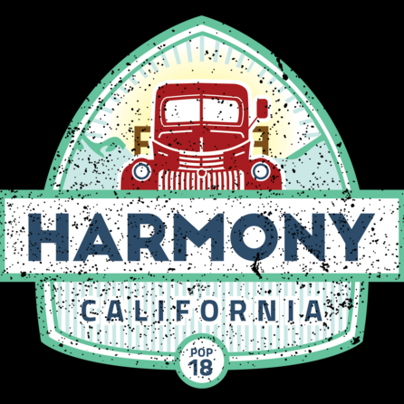TOWN OF HARMONY - There's great history in our future. And great future for our history. Harmony is making a comeback. Soon we'll invite you to come back with us. Back to the time when Harmony was a thriving Central Coast hub of hard work, welcoming people and natural charm. And forward to the new Harmony, full of personality, delicious flavors, unique art and its own special only-in-Harmony culture.2177 Old Creamery Rd Harmony, CA 888-927-1028info@harmony.town