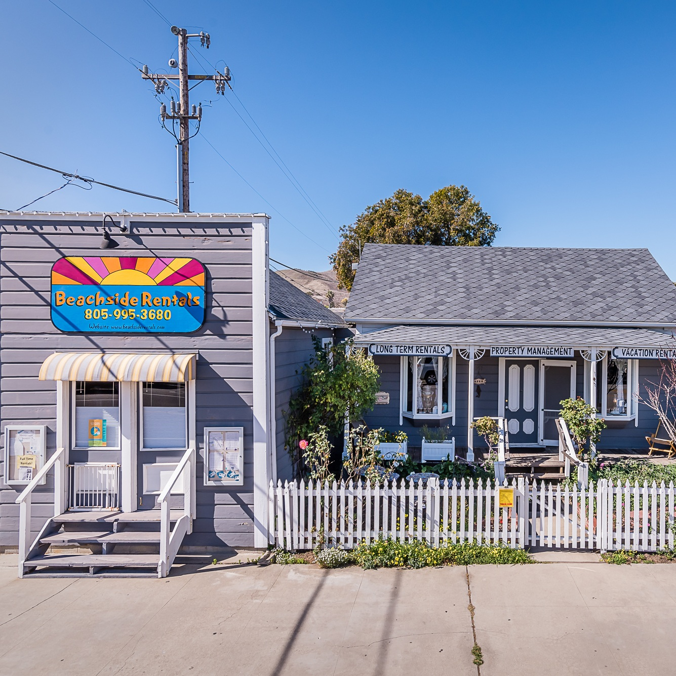BEACHSIDE RENTALS - Property Management, Full Time Rentals, and Vacation Rentals151 Cayucos Drive805-995-3680 Toll Free: 800-995-3680vacation@beachsiderentals.com
