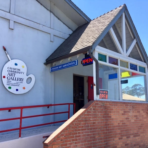 CAYUCOS ART ASSOCIATION - Cayucos Community Art Gallery at the foot of the pier. Local art in a variety of styles and mediums, completely updated every 8 weeks. Open daily, 1-4, closed Tuesdays10 Cayucos Drive805-995-2049