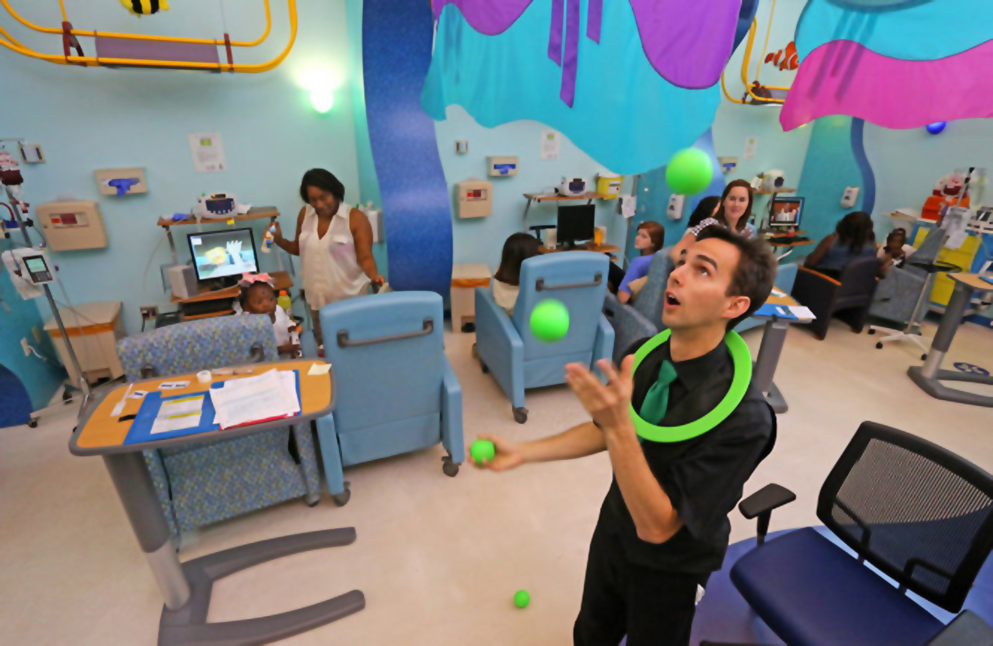 Entertaining for Families at a Children's Hospital