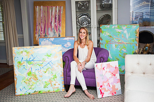 Cameron hackett - Born and raised in Richmond, VA Cameron has always had a love for the arts. Coming from a long line of women with an eye for design and color she decided to put paint to canvas. Cameron is an abstract artist that believes every home could always use a little more color.REQUEST CAMERON'S PORTFOLIO
