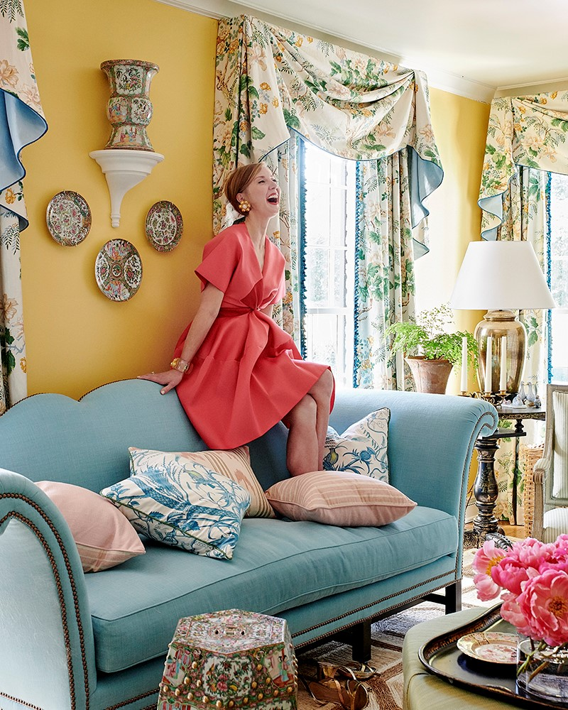 Interiors by Mark D. Sikes. Photographed by Amy Neunsinger.