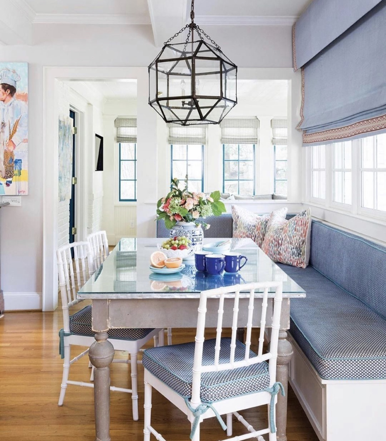 Interiors by  Whitney Durham . Photography by  Laura Negri Photography .