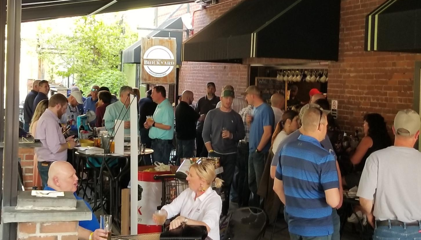 The May 2, 2019 MUG happy hour held at The Brickyard Restaurant & Ale House in Williamsport, PA.