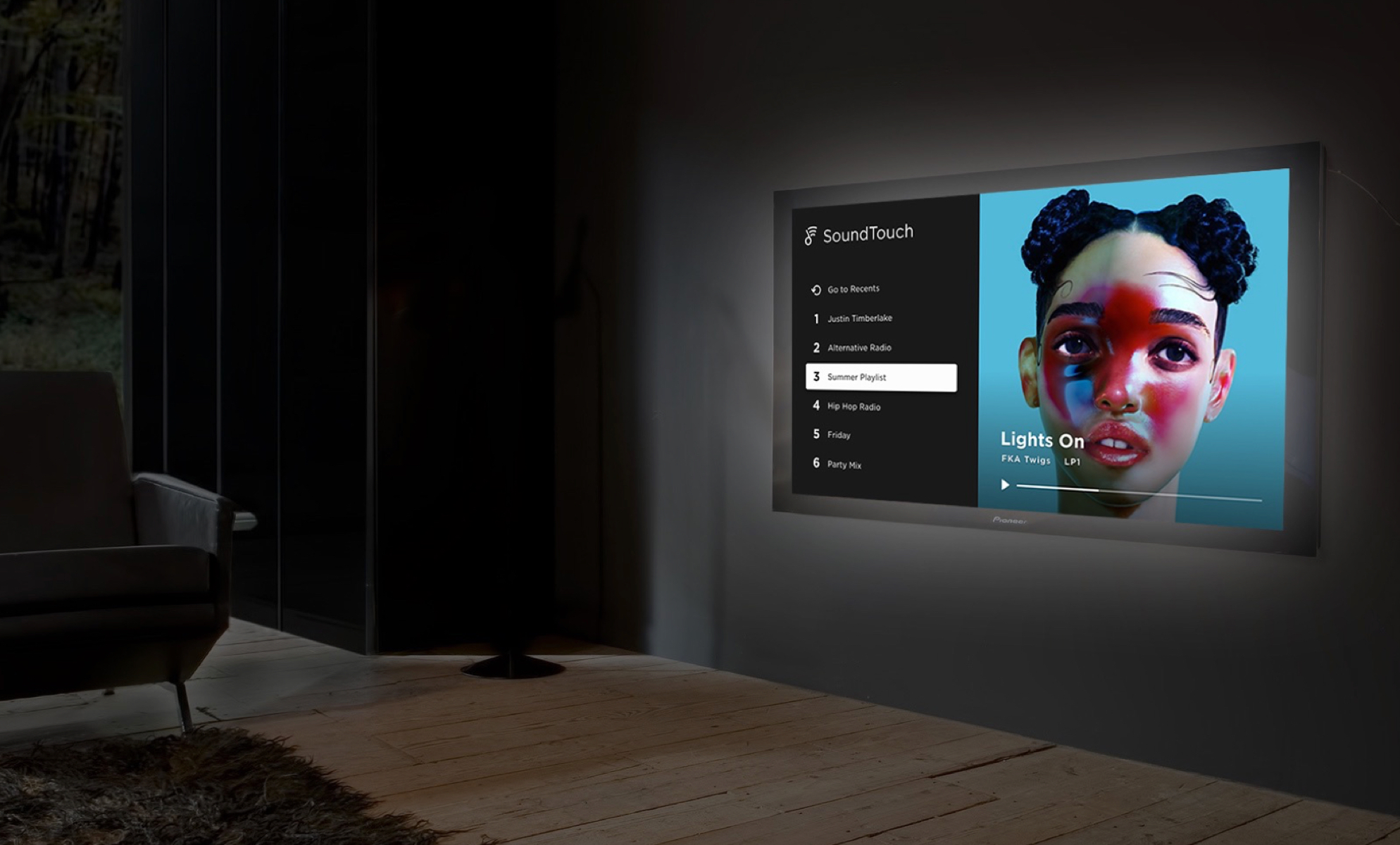 Bose's audio for video experience