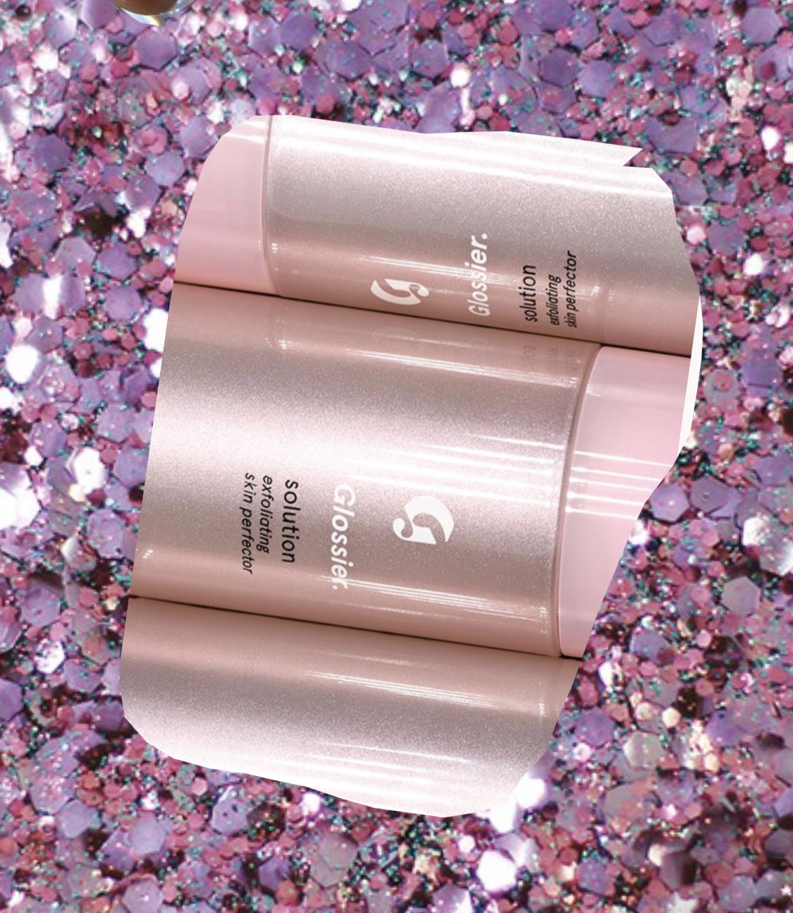 Glossier exfoliating and toning solution   This solution is truly a solution for people who have sensitive skin but still need to exfoliate. My skin gets red and dry very easily, but I still need something to detox my skin and clear out my pores. This product does exactly that. I also use the Glossier cotton pads to apply it evenly and cleanly.