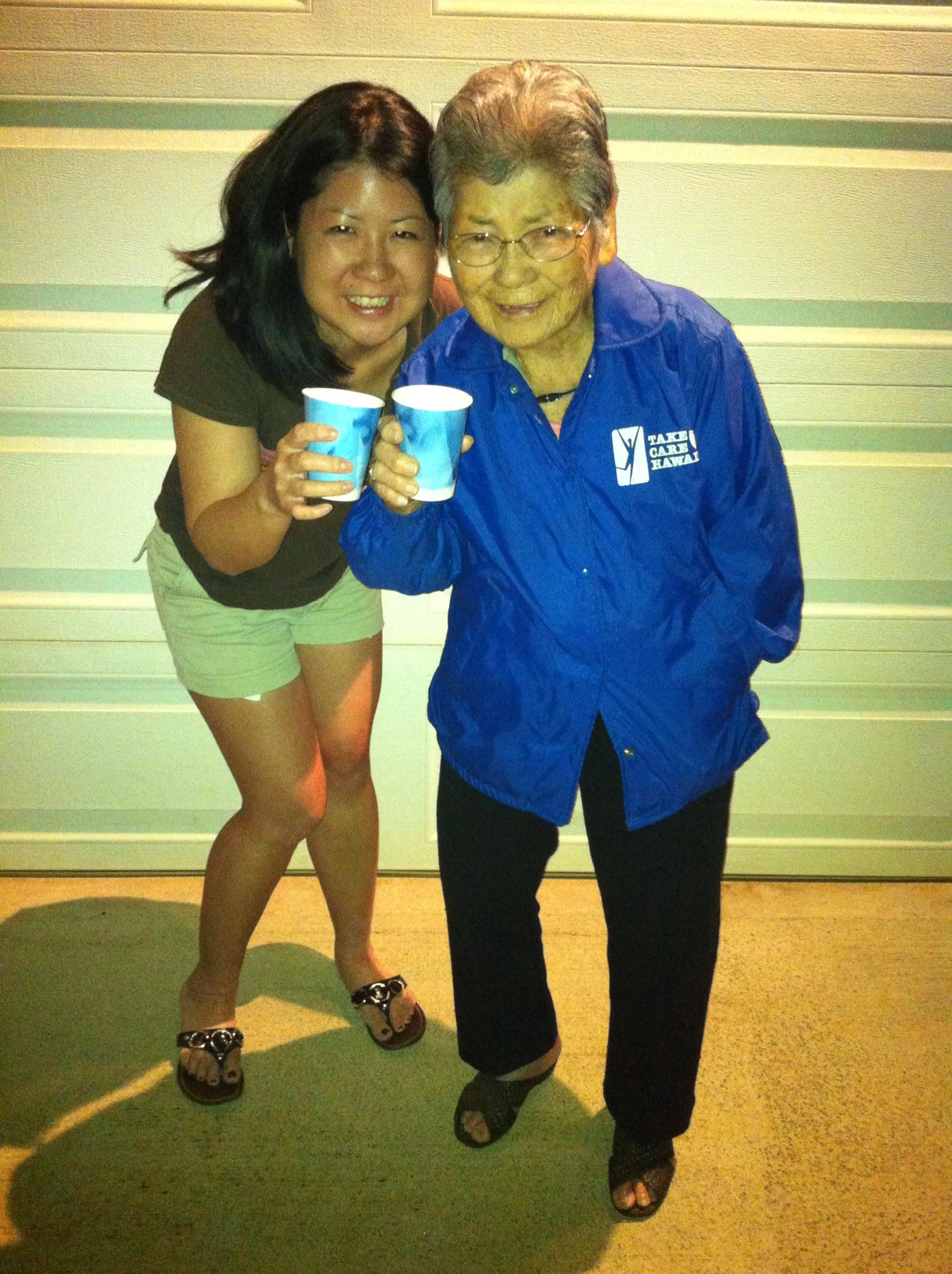 Founder Lori Shen and her 96 year old Grandma enjoying the start of 2019.