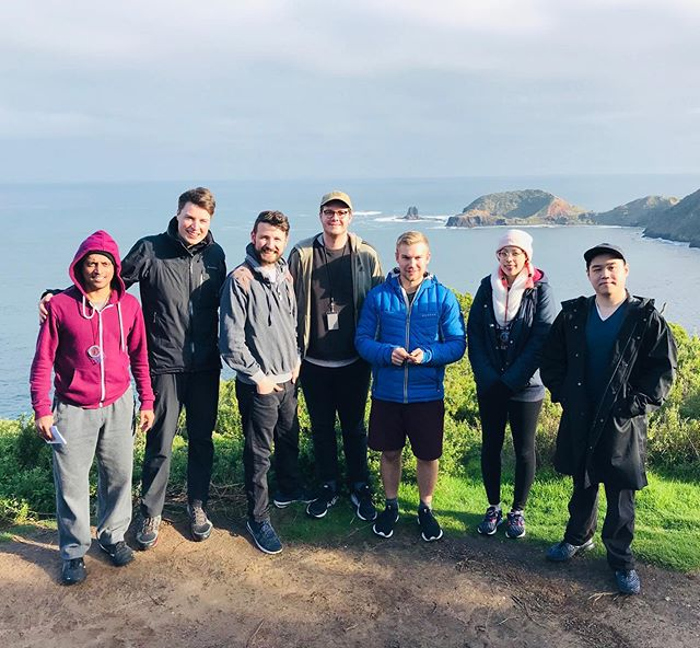 The bracing fresh air of winter didn't stop these guys 🌤💪🏻. Out an about with the Spicy Web team on the Mornington Peninsula. . #morningtonpeninsula #team #movement #exercise #nature #inspiration #digitaldetox @spicyweb.com.au