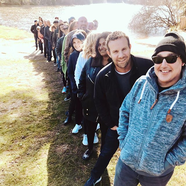 Breaking out of the office to focus on leadership and team work with the rock stars 🤘🏼 from Moose Toys yesterday.  @moose_toys 🙏. @regcrawford63 @branchouttravelaustralia . #leadership #events #team #outdoors #nature #business #active #nature #creativethinking #wellbeing #smiles #powerup #touring #australia #melbourne #daylesford #walking #life #getoutside #gobranchout #15000steps