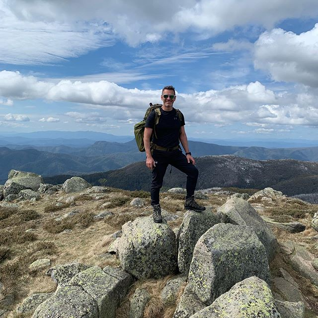 Mount Stirling 🥾. . #hiking #snow #mountains #backpacking #trekking #mountstirling #mountbuller #views #freshair #health #wellbeing