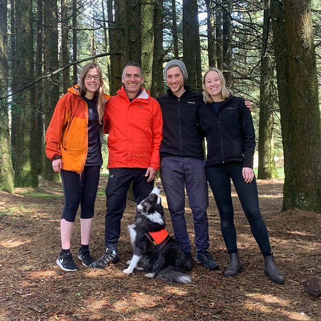 Post-event team pic 📷. Back in the woods for an magic Team Vs. Wild event...more to follow @liselou06 😉. 👍🏻⛰🍀! #teambuilding #leadership #events #melbourne #australia #gobranchout #team #ateam #bordercollie #businessevents