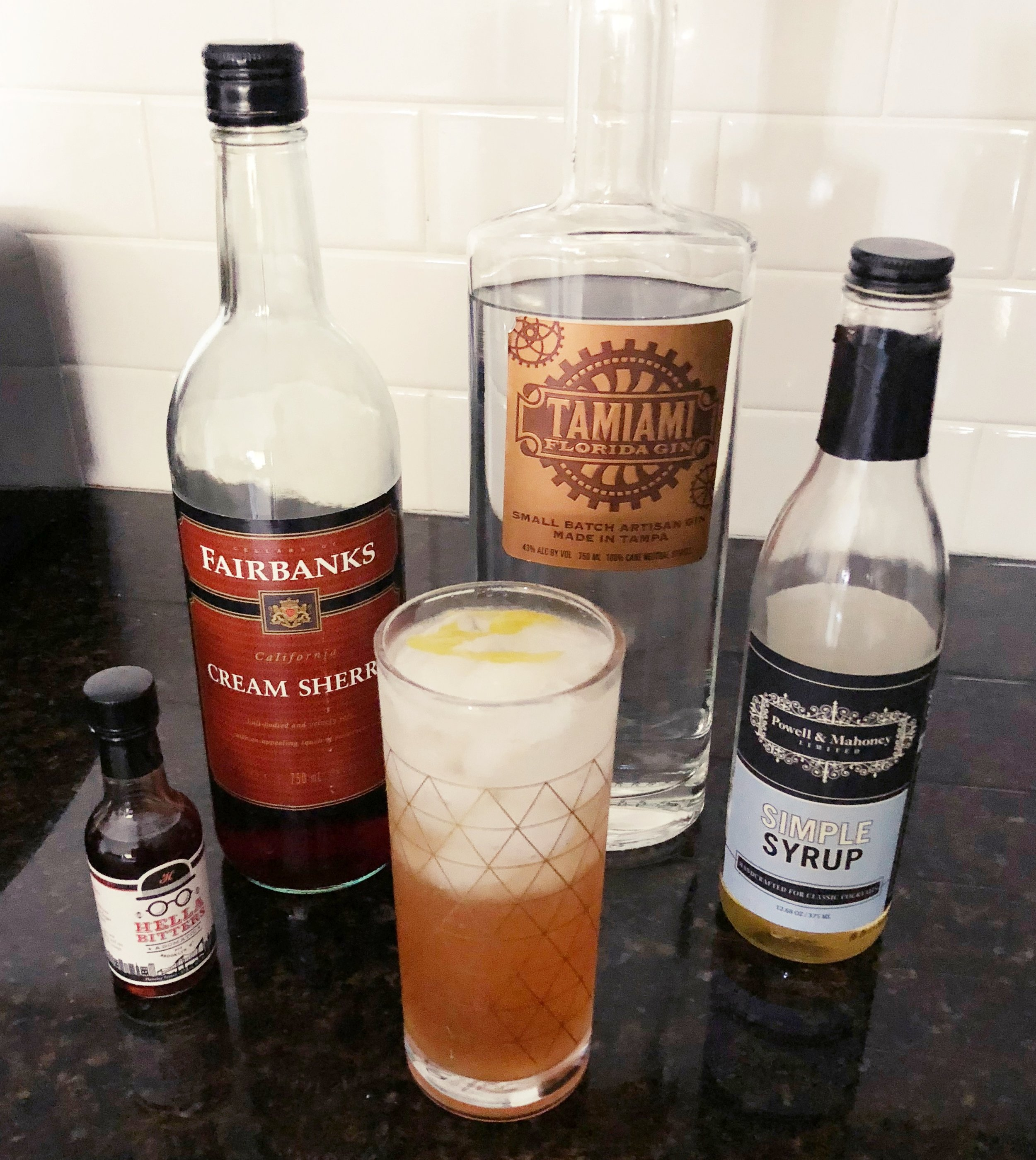 Heather's gin sling
