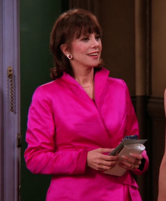 mrs green hot pink jacket