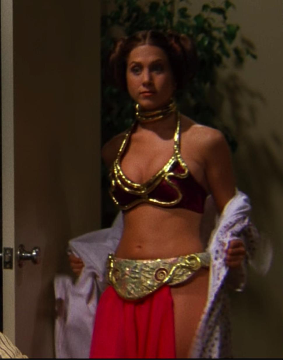 rachel princess leia bikini