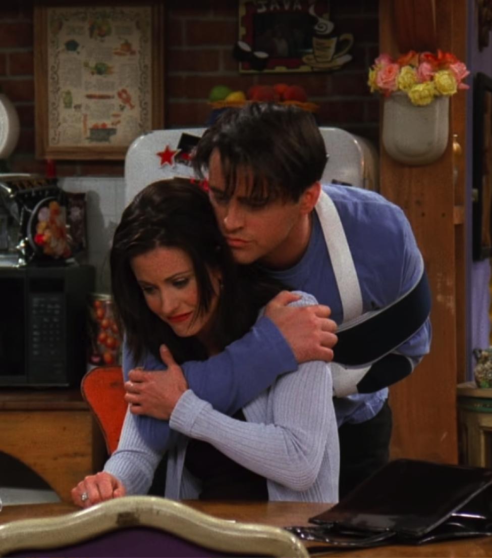Poor Monica is sad that the Baby Plan didn't work out the way she wanted. / Handbag Marinara / @handbagmarinara