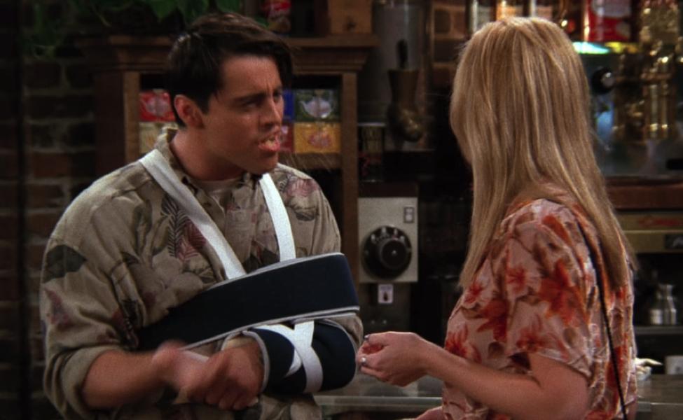 Joey sprays it instead of saying it. / Handbag Marinara / @handbagmarinara