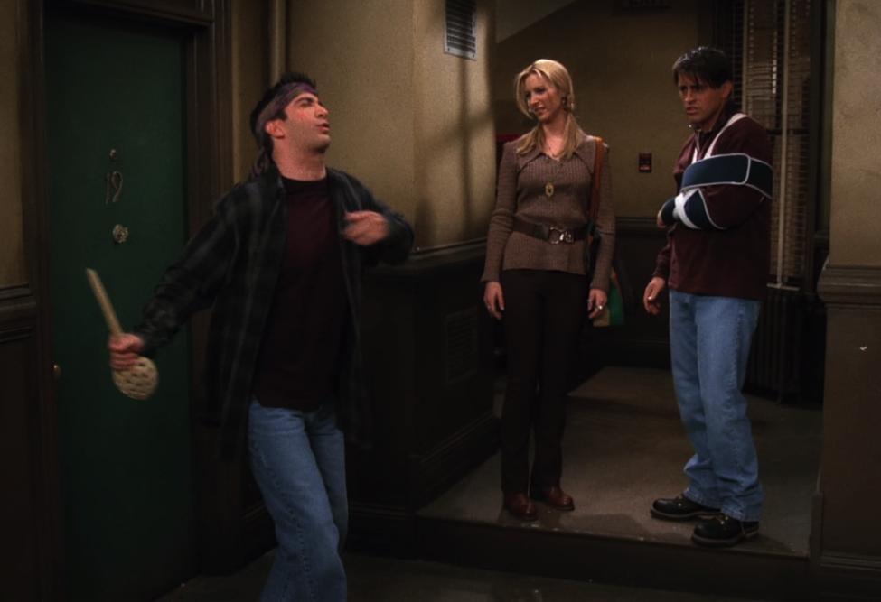 """""""You'll never get me, Joe!"""" / NBC Universal / Handbag Marinara / @handbagmarinara"""