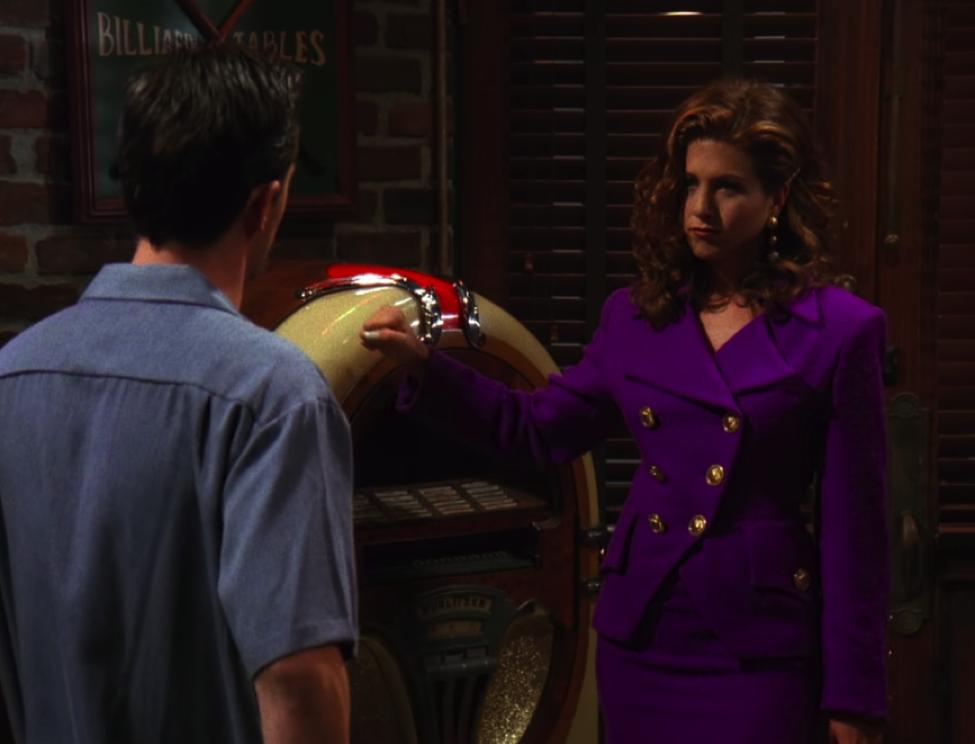 Rachel's fantasy?! / NBC Universal / Handbag Marinara: A FRIENDS Podcast / @handbagmarinara