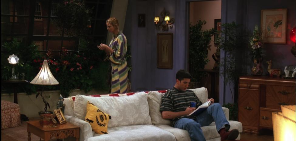 Monica's Apartment Jungle / NBC Universal / Handbag Marinara: A FRIENDS Podcast / @handbagmarinara