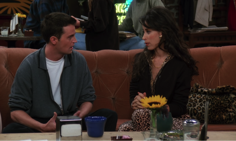 The break-up / NBC Universal / Handbag Marinara: A FRIENDS Podcast / @handbagmarinara