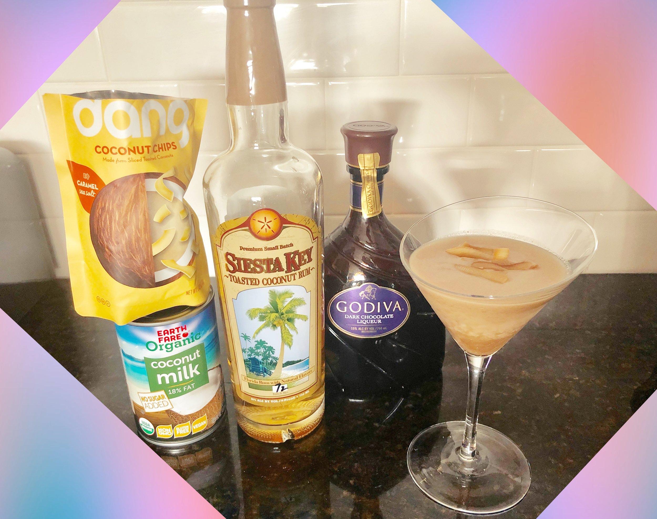 Hanukkah Menoreo Martini — Our take on a boozy, liquid Brown Bird cookie! / Handbag Marinara: A FRIENDS Podacast / @handbagmarinara