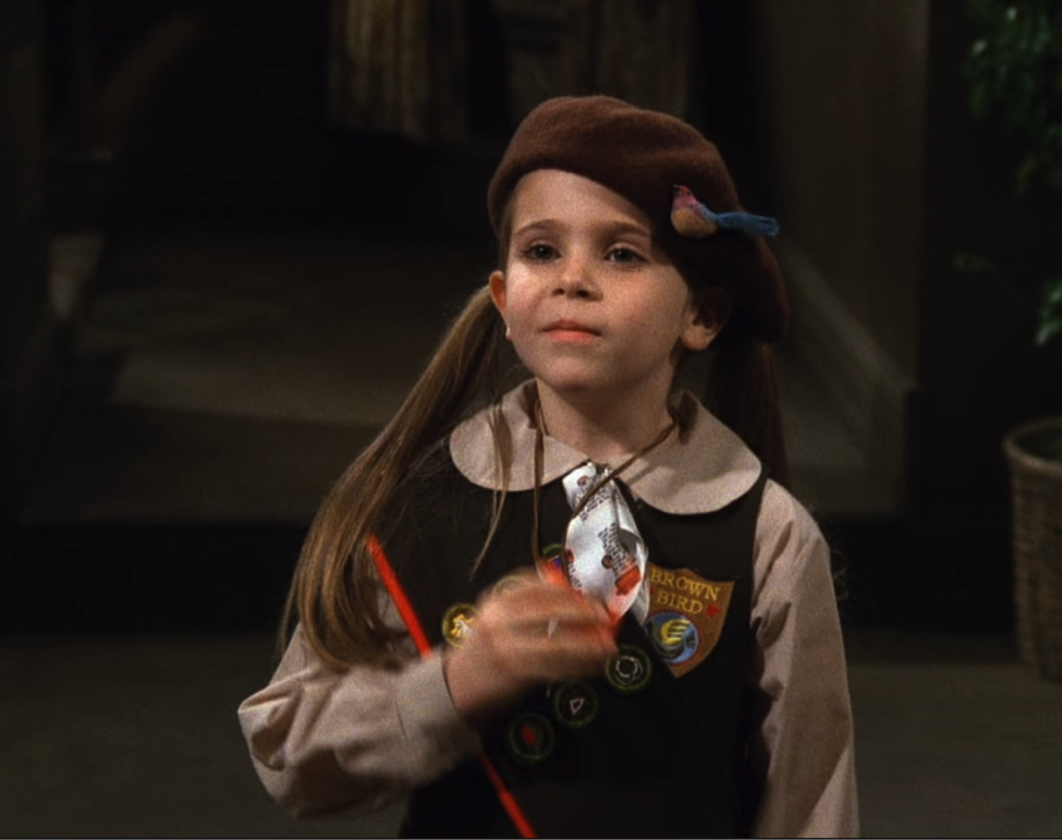 Mae Whitman on FRIENDS / NBC Universal / Handbag Marinara: A FRIENDS Podcast / @handbagmarinara
