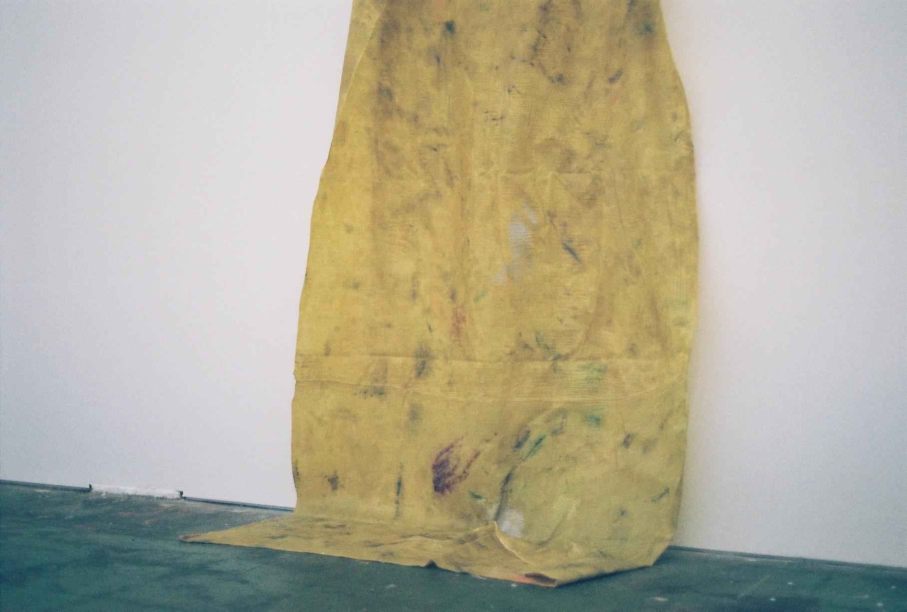 Jahnne Pasco–White,  turning the circle , 2016 oil, varnish on muslin courtesy Daine Singer, Melbourne