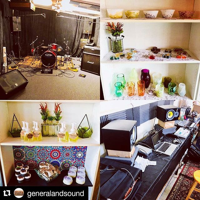 We practice at @GeneralAndSound and so should you! #hamiltonnj #rehearsalspace #njmusic