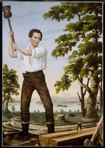 Painting for the 1860 Presidential Campaign