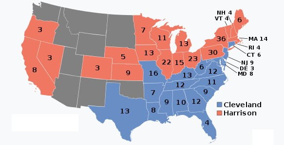 1888 Electoral College