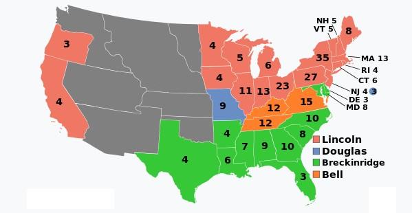 1860 Electoral College