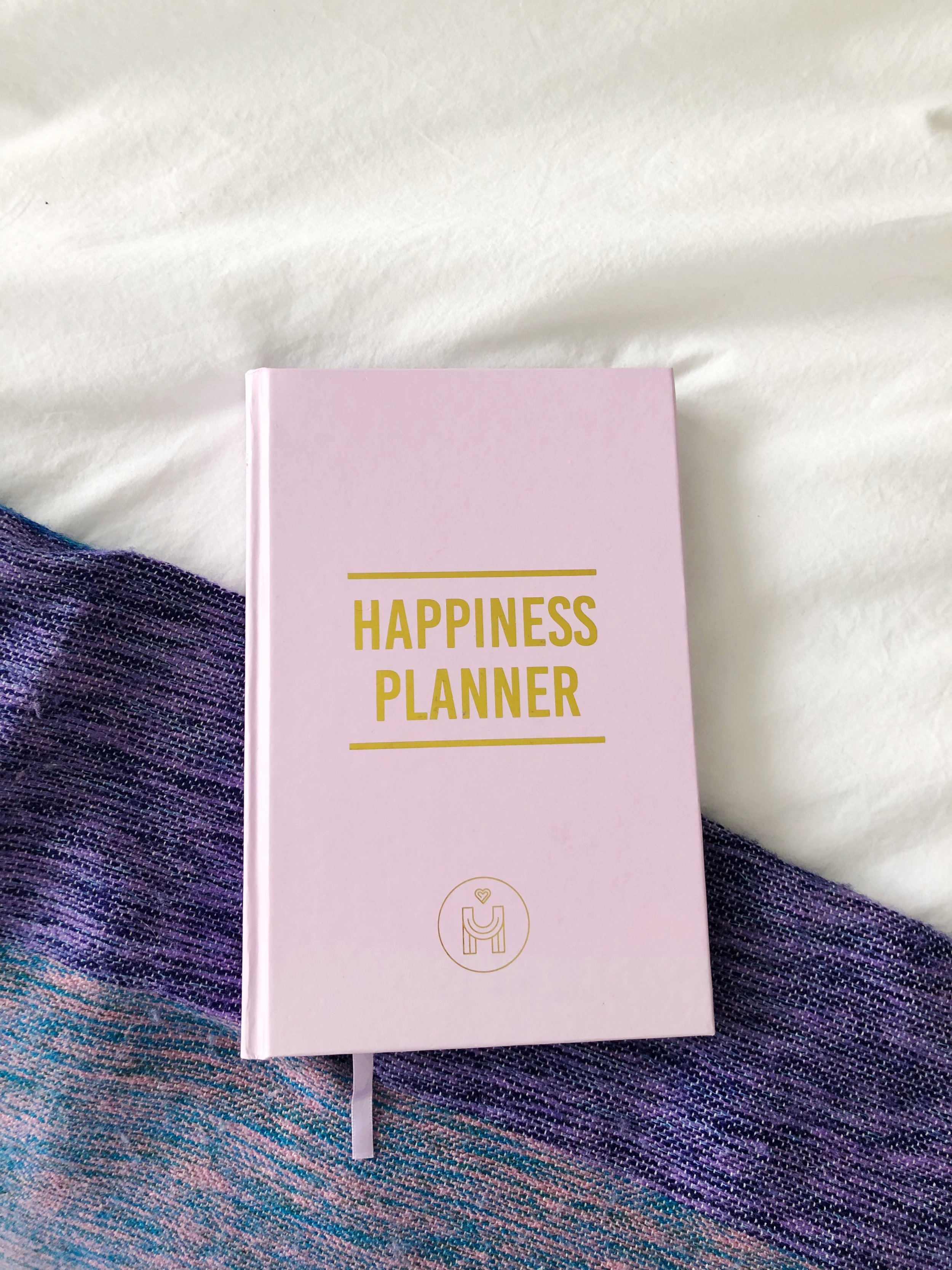 For 100 days I will journal in  The Happiness Planner .