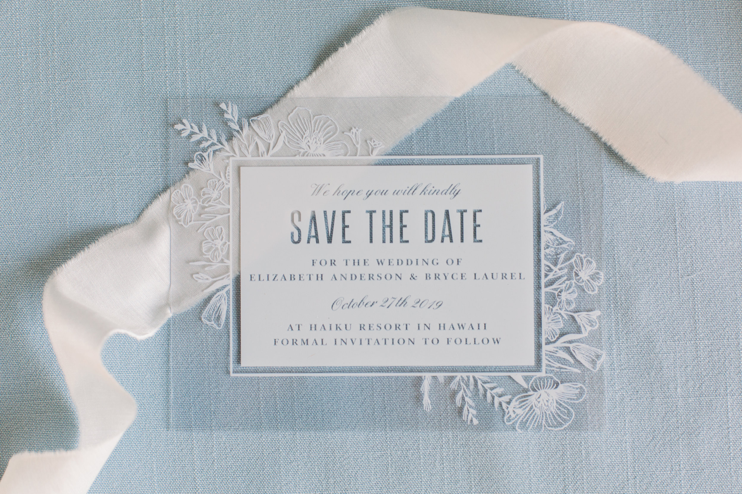 Spring Save The Date Styled Shoot With Basic Invite Nicole