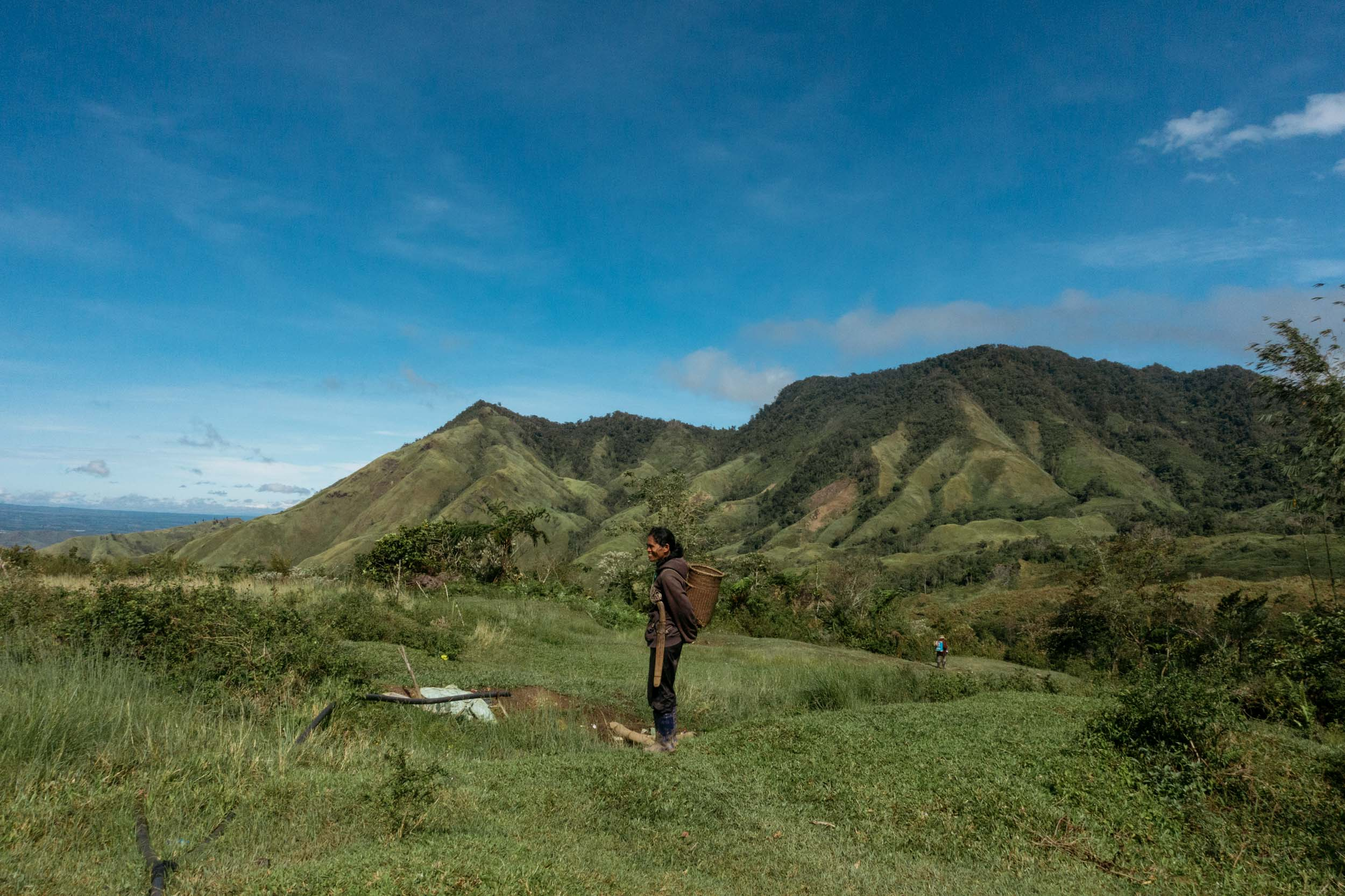 The community of Sitio Manalog, Bukidnon composed of 222 households take pleasure in being surrounded by the mountainous view of Mt. Kitanglad rage.