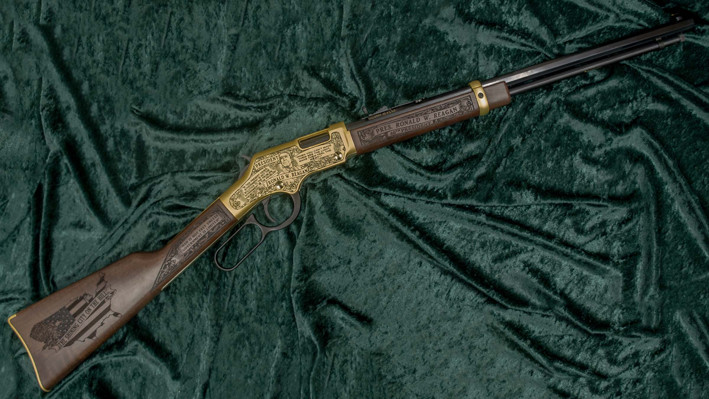 Right-side of the Pass the Torch Rifle