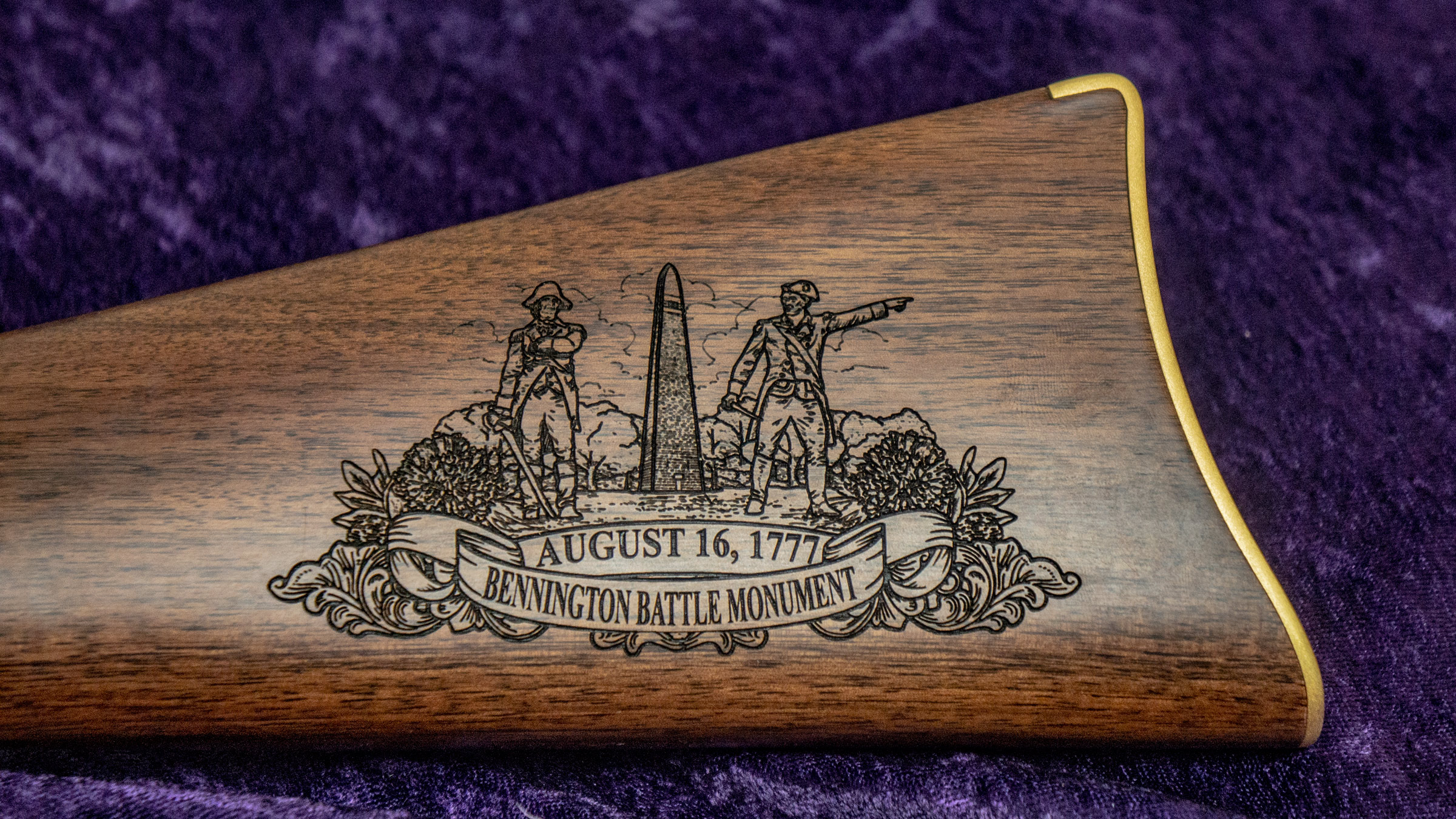Left-side Buttstock with Medallion