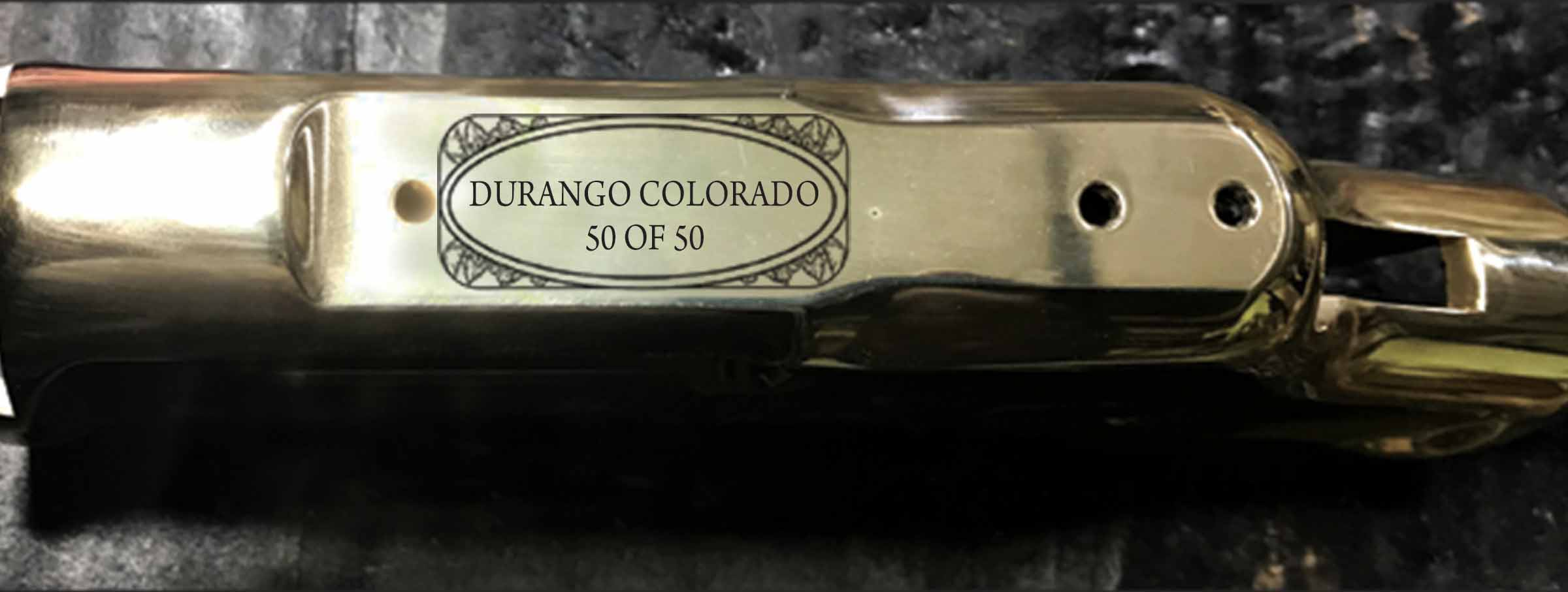 Each Durango, Colorado rifle is individually numbered on Top of Receiver.