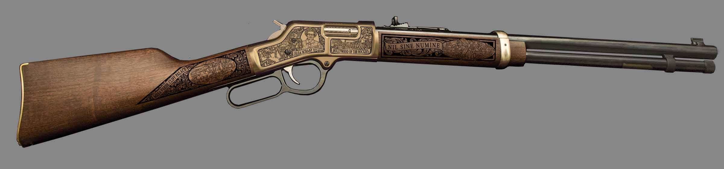 Right-side of the Durango, Colorado rifle