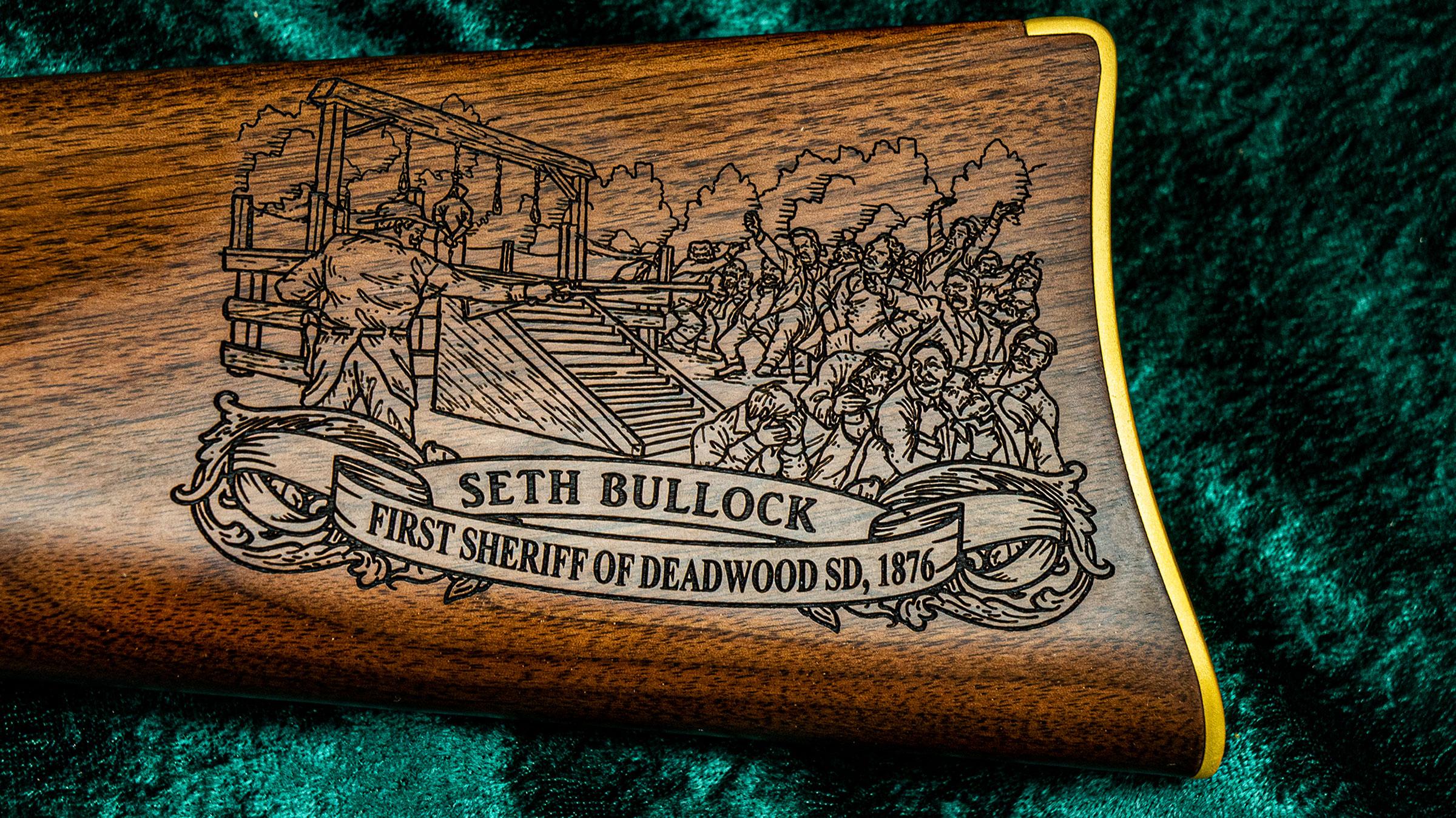 Left-side Buttstock Medallion