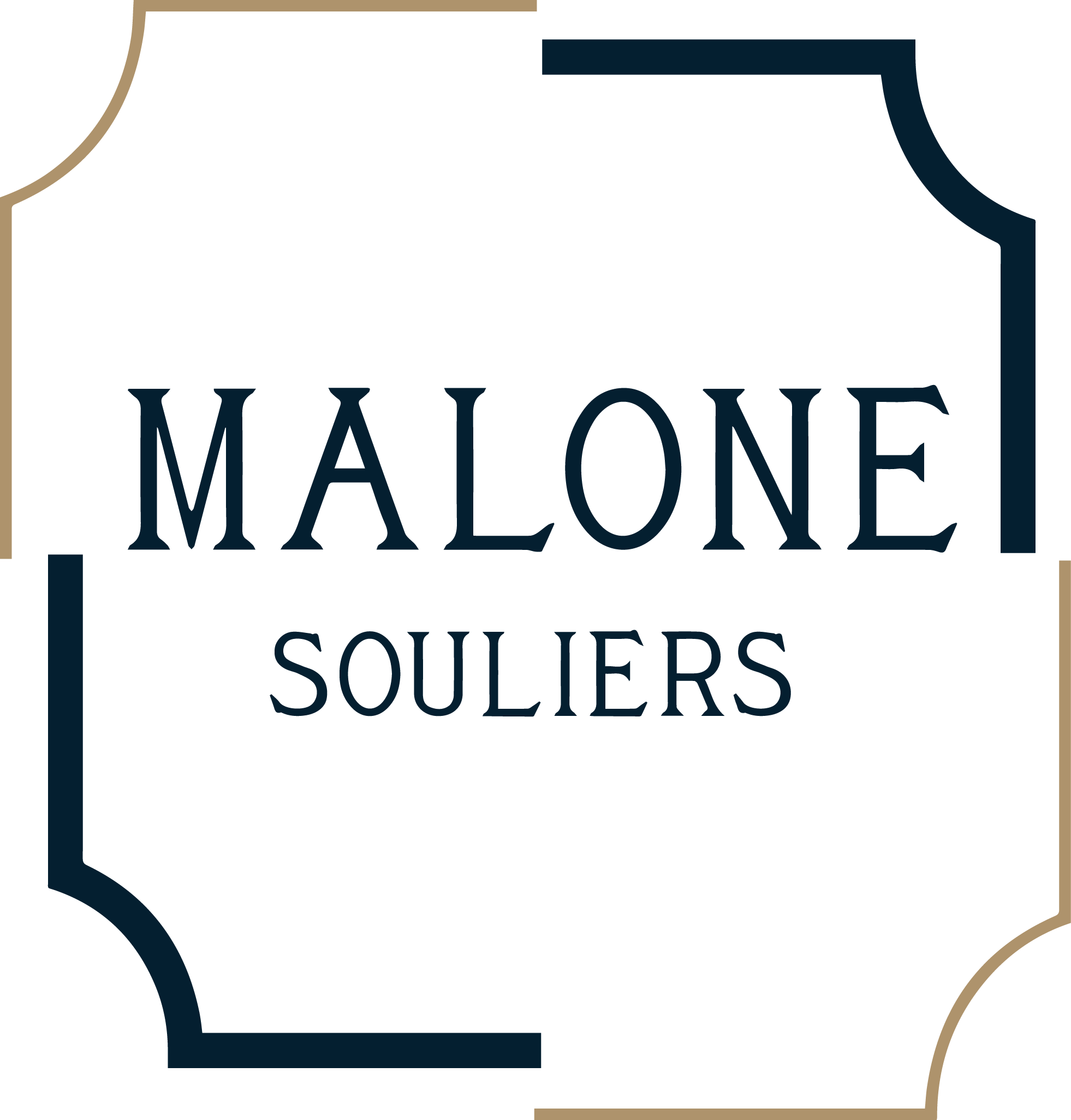 Malone Souliers Crest (blue,gold).png