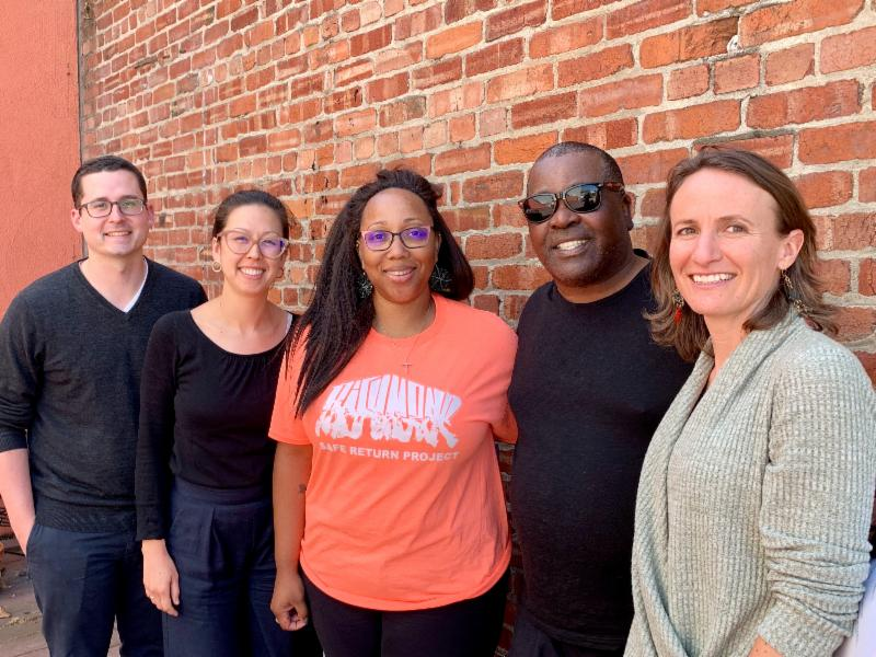 Victory for Second Chances: Daniel  Nesbit, Impact Fund, Law Fellow; Lindsay Nako, Impact Fund, Director of  Litigation & Training; Tamisha Walker, Plaintiff Safe Return  Project, Executive Director; Plaintiff Walter Killian; Rebekah Evenson,  Bay Area Legal Aid, Director of Litigation & Advocacy .