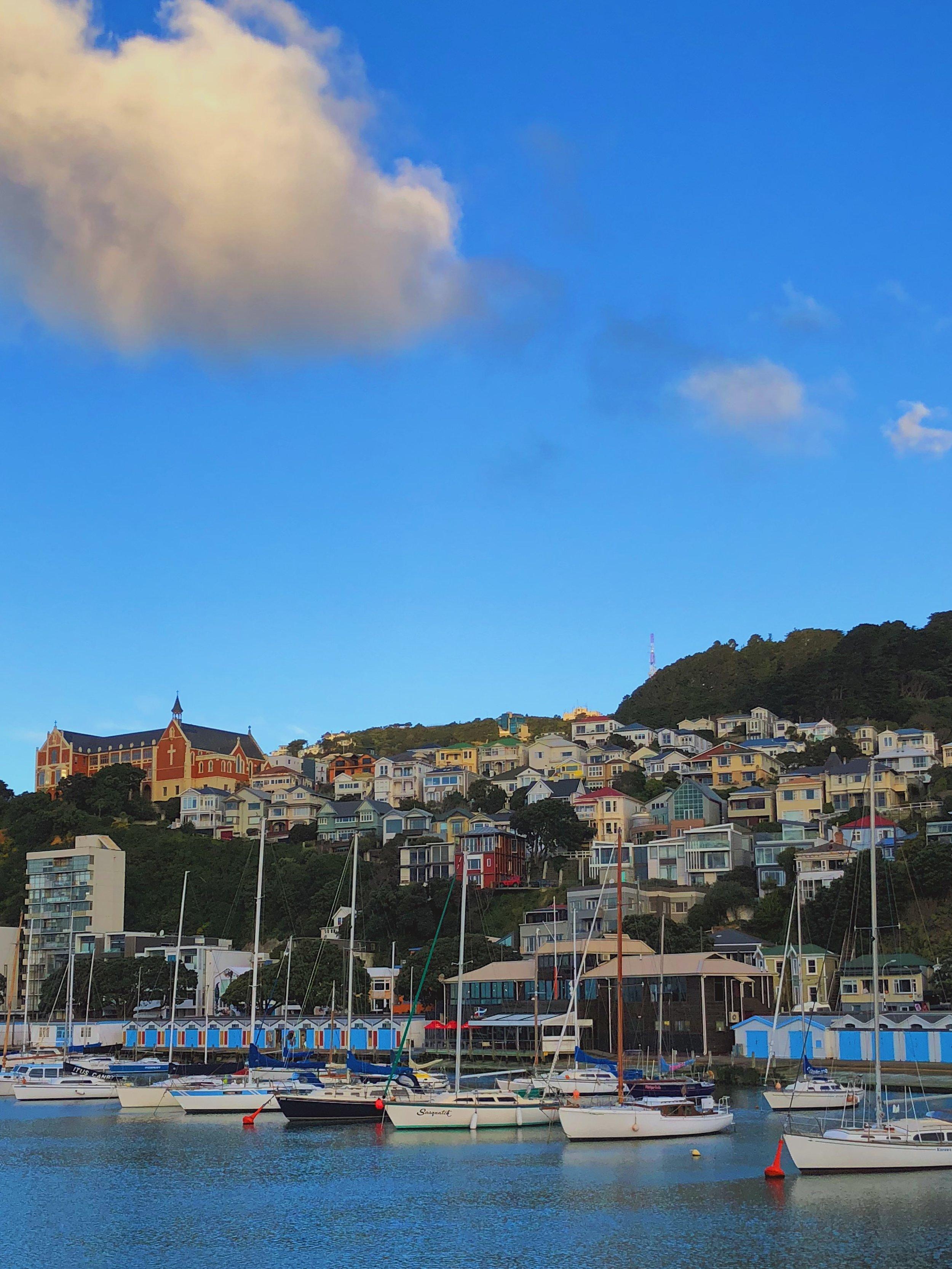 Le front de mer de Wellington