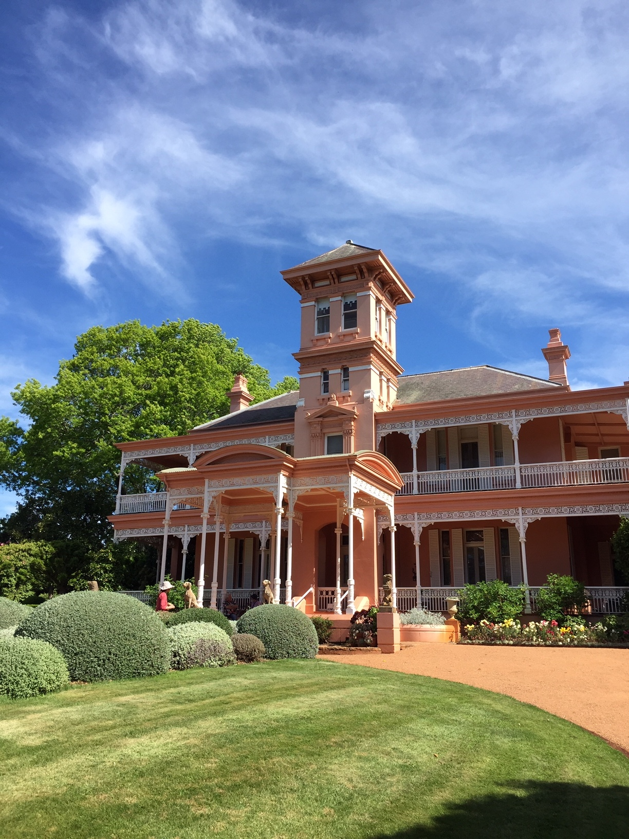 National Trust (NSW) historic garden, Retford Park at Bowral. Photos P Vizents at 2018 AGHS National Conference