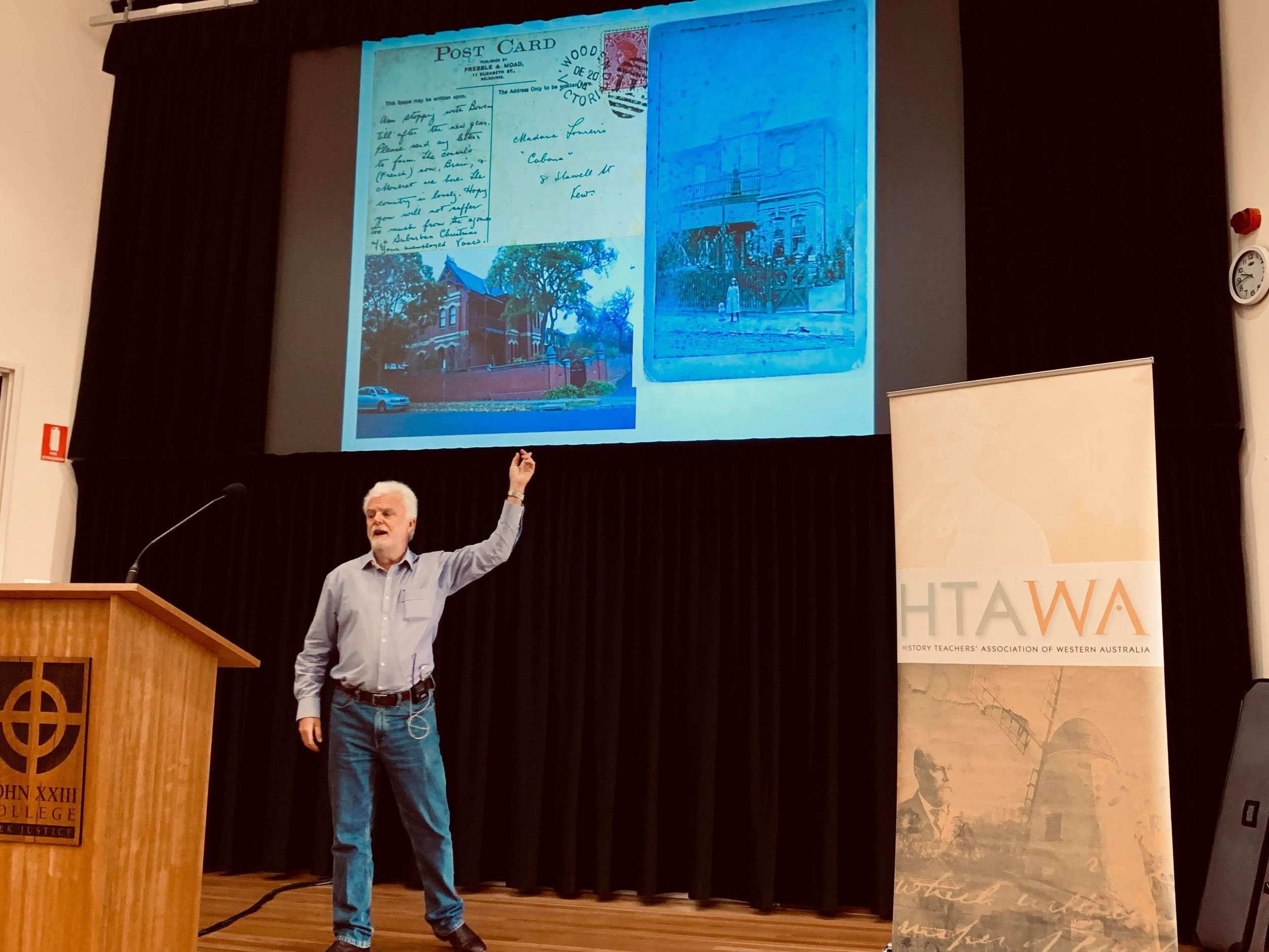 Dr Paul Kiem delivers his keynote address, 30 March 2019. Images courtesy of Vanessa Kirkham