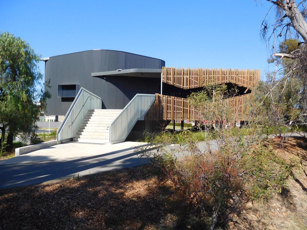 Bilya Koort Boodja Centre for Nyoongar Culture & Environmental Knowledge, Northam. Photo, Robyn Taylor 2019.