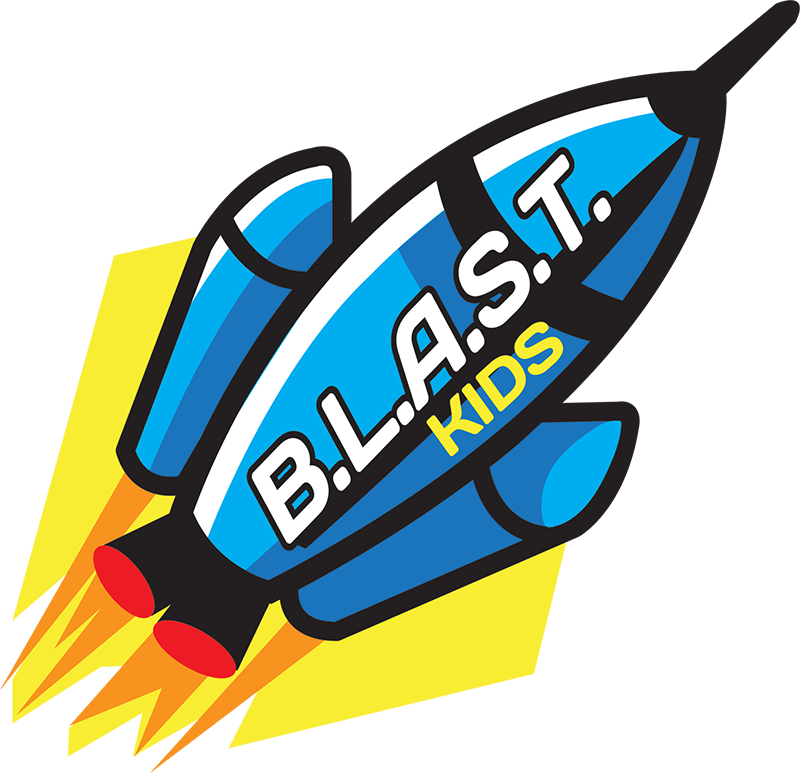 Believe Learn Aways Speak Truth - BLAST is our Sunday morning kids study at 10:00-10:45. Our Kids Director is Mrs. Heather Biddinger, Blast is for grades 5th and down. We want you and your kids to feel safe. We want your kids to learn about God and be able to grow into Godly christians. There is games, lessons, and food we want your kids to have fun coming to church and not just think it is somewhere to go we want them to want to come!